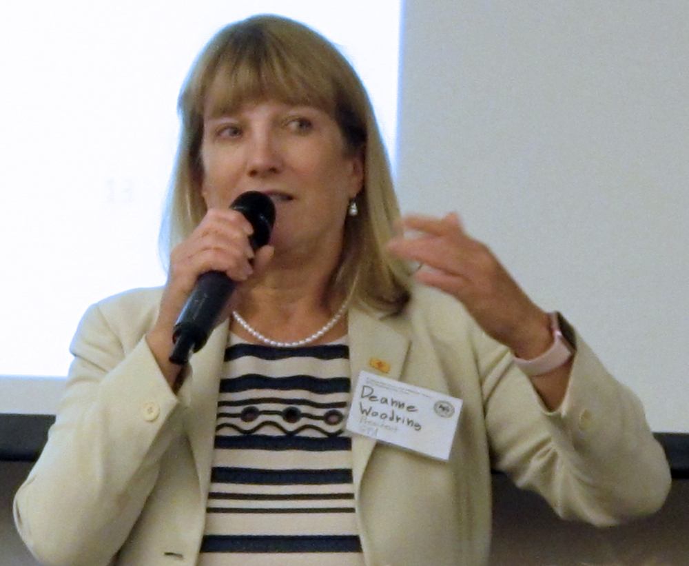 Deanne Woodring, CFA, is President of Government Portfolio Advisors, LLC. Deanne gave an update on the NM LGIP and local government investing.